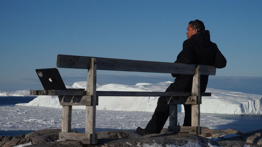 me and my Mac.... EyeEm Best Shots - Landscape EyeEm Best Shots - Nature EyeEm Nature Lover Going Remote Icebergs Ilulissat Nature Nature Photography The Real Greenland This Is Greenland Iceberg Nature_collection
