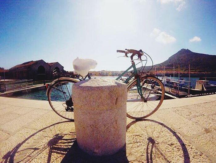 Bicycle Sky Day Outdoors Sunlight No People Nature Tranquility Beauty In Nature Sunset Favignana Isole Egadi Egadi Islands Holidays Favignana's Sea Favignana Favignana2017 Favignana 👌🏼 Siciliabedda Sicily, Italy Sicily ❤️❤️❤️ Travel Destinations Mediterranean Nature Mediterranean  Vacations Mediterranean Sea Sicilia Mare