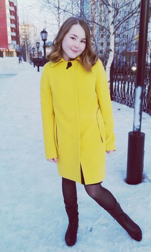 Spring Yellow That's Me Sun Surgut  School My Town Enjoying Life GoodDay❤ Smile❤