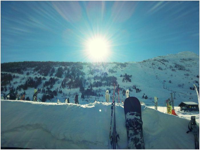 Snowboarding Snow Sky Snowboarder
