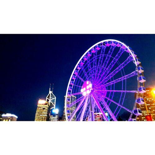 摩天轮------2015-7-14香港中环码头 Ferris Wheel Holiday Color Photography Travel