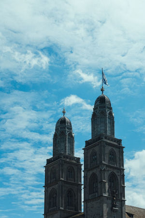 Architecture Belief Building Building Exterior Built Structure Cloud - Sky Day Dome History Low Angle View Nature No People Outdoors Place Of Worship Religion Sky Spire  Spirituality Switzerland Tower Travel Destinations