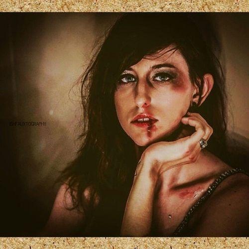 """Memento Mori"", Just not tonight.... Ishfauxto Libbydanger Life Destruction pain blood tears loss selfdefense selfpreservation selfexistance mementomori model altmodel mac fxmakeup eyes bruises"
