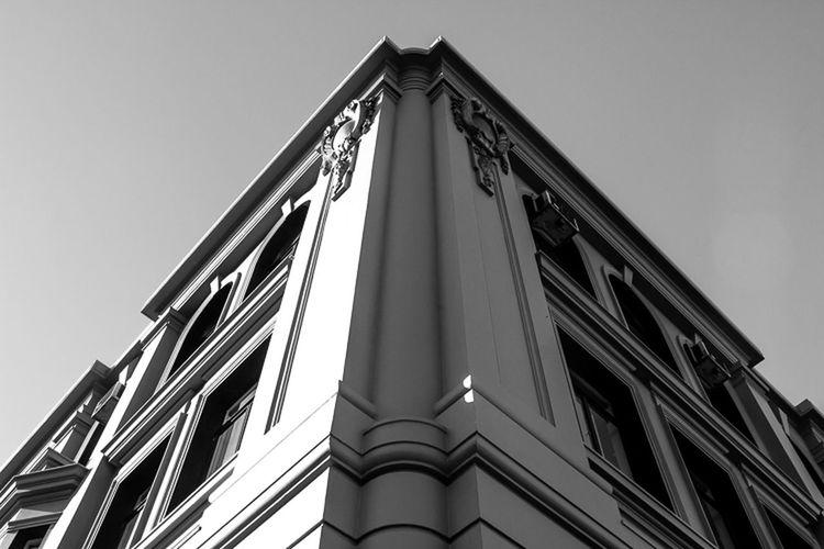 Nice corner in Gisborne Monochrome Blackandwhite Architecture