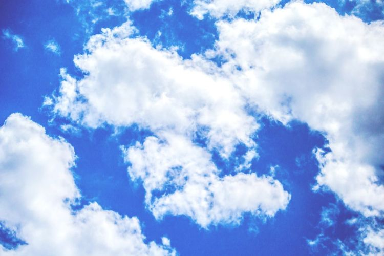 Cloud - Sky Blue Nature Cloudscape Sky Abstract Day Backgrounds Outdoors Beauty In Nature No People Beauty Céu Nuvens Nuvem Colorful Perspectives On Nature