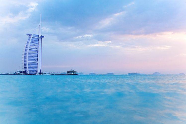 One of my favorite pieces of architecture, Burj Al Arab , Dubai , UAE