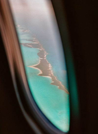 Exuma, Bahamas; film photography; Caribbean; Caribbean sea; ocean; relax; getaway Bahamas Carribean Clear Water Clouds Film Film Photography Island Island Life Nature Nautical Ocean Ocean View Peace Plane Plane Window Quiet Romantic Landscape Serenity