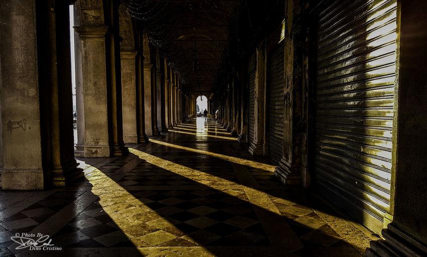 Venice Venezia Venice, Italy Contrasto Ombre Luci Sun Contrast Piazza San Marco Dino Cristino Nikon D7100 Nikonphoto