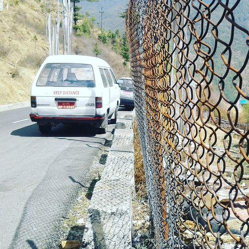 Thimphu Distance Kept Fences & Beyond