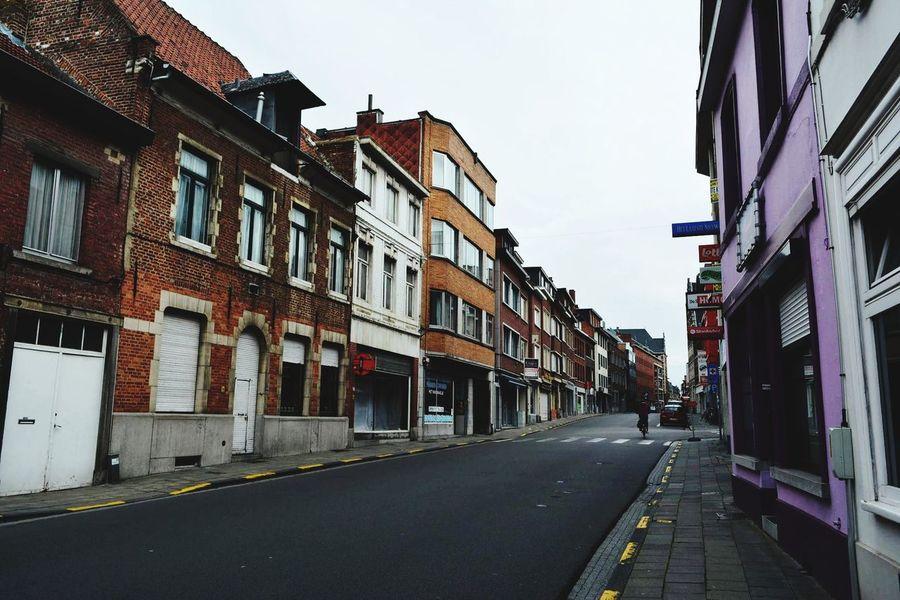 Belgium Leuven Street