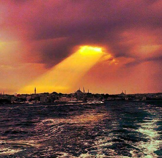 Eye Of Sauron Istanbul #bogaz Sun