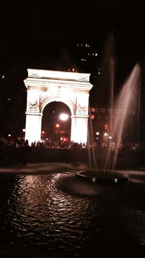 Washinton Square Park NY Taking Photos Enjoying Life