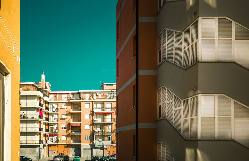 Building Exterior Architecture Built Structure Building Window No People City Residential District Day Sunlight Sky Nature Outdoors Wall - Building Feature Apartment Clear Sky Low Angle View House Travel Destinations Shadow Skyscraper 17.62°