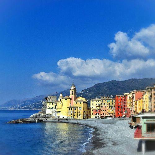 Taking Photos Sunny Day Liguria