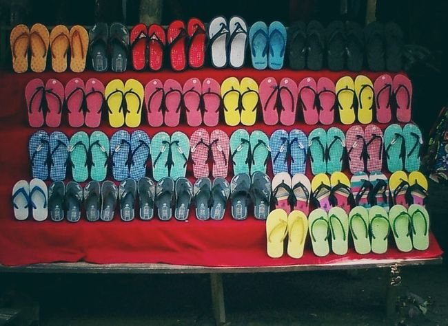 The Street Photographer - 2016 EyeEm Awards Flipflops For Sale Variation Colorful Seaside Traveling Fashion Shoes Must Have Display Texture Cheap Bargain Luangprabang Laos