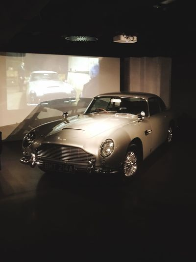 Bond James Bond Car Vintage Car Beauty DB5 Aston Martin