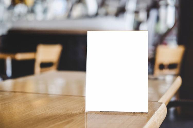 Menu Frame Framework Design Framing Poster Order Presentation Promotion Acrylic Frame Table Menu Tent Card Restaurant Mock Display STAND Frame Background White Mockup Sign Cafe Paper Business Banner Template Blank Bar Empty Wood Food Showcase Holder Plastic Acrylic Dinner Clean Information Print Label Advertise Announce Antique Board Booklet Mock Up Wooden Advertisement Advertising