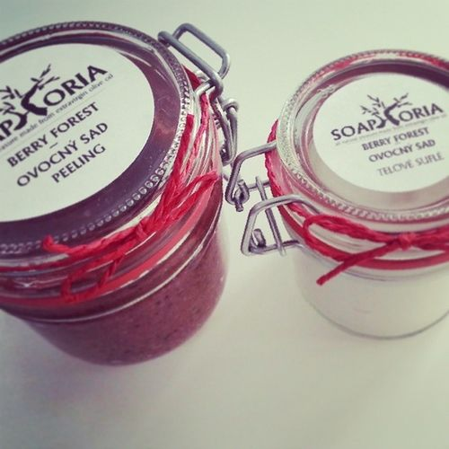 Biobeautysk Soaphoria Ovocnysad Peeling telovesufle berry ovocnavona top madeinslovakia newin novinky eshop wwwbiobeautysk