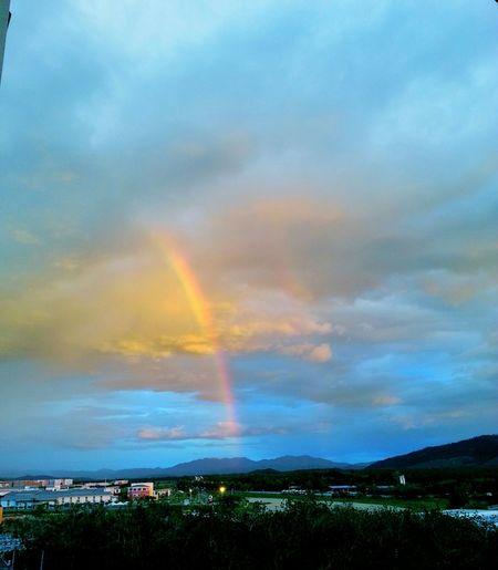 Rainbow or rainbows? :) First Eyeem Photo