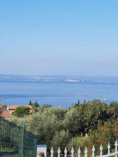 Blick auf dem Gardasee Water Sea Nature