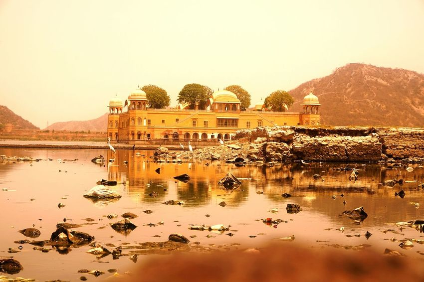 Jalmahal Jalmahalpalace Jaipur Jaipur Rajasthan Jaipur Tourist Place For Sale Historical History Through The Lens  Sony α♡Love Historical Building Historical Place Reflection Reflections RealityCheck Reality