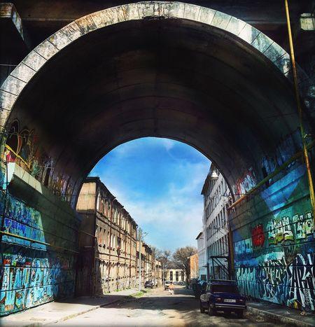 Streetphotography Odessa Bridge Grange Style Graffiti Architecture Arch Urban
