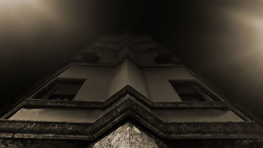 Point of view Building Architecture Architecture_collection Building Exterior Architecture And Art Architecture Photography Simmetry Simmetrical Building Night Nightphotography Night Lights Night Photography Night View Nightshot Night City Architecturelovers Exterior Geometric Shape Tall - High