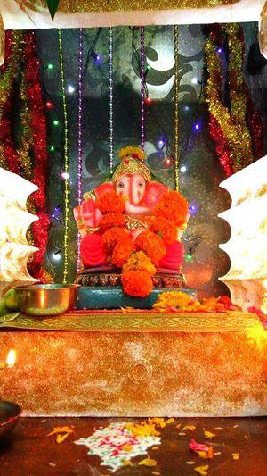 Celebration Religion Indoors  Close-up Lord Ganesha EyeEmNewHere