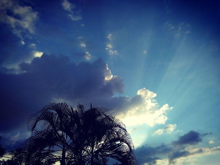 Sky Sky Silhouette Nature Scenics Cloud - Sky Beauty In Nature