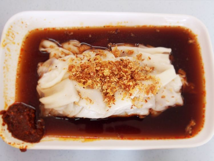 To die for. Malaysian Food Chinese Food Homemade Shrimp Cha Siew Chee Cheong Fun Chili  Chinese Cuisine Favourite Fillings Food Kajang Malaysia No People Onion Flakes Plate Popular Prawns Rice Flour Roasted Pork Shrimp Paste Soy Sauce