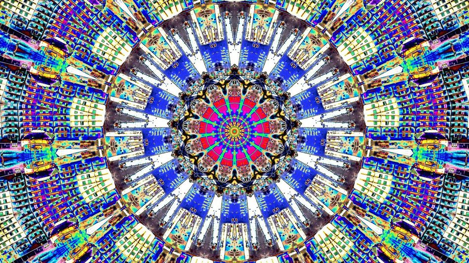 Digital Art Photo Manipulation Kaledescope Abstract