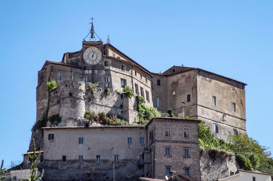 Rocca Dei Borgia Architecture History Built Structure Building Exterior Low Angle View Clear Sky Day No People Castle Outdoors Ancient Travel Destinations Blue Tree Sky Nature