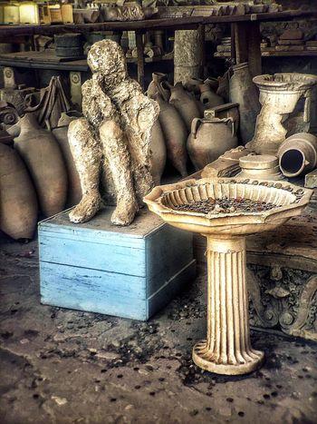 Pompei. Archeologia Pompei Ashes Life And Death
