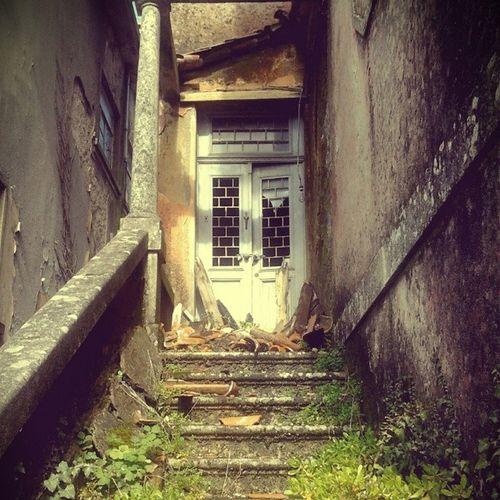 Past in present Past Old Building House Passado Velho Antigo Destroços Casa
