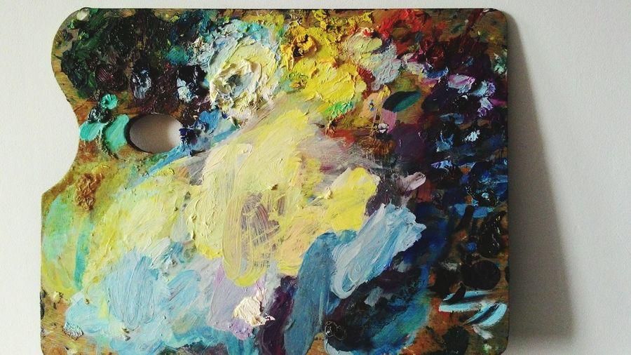 ArtInMyLife Colors Pallete Art, Drawing, Creativity Illustrator ArtWork Painting