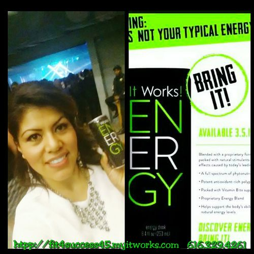 All Natural Fruit Extract! !!! Energydrink Fit4success45.myitworks.com Crazy Body Wraps ItWasAmazing Limelite2015 Looseweight Detox Never Stop Dreaming It Works Check This Out
