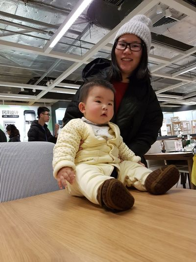 Chinese People IKEA Baby Child Childhood China Family With One Child Indoors  Innocence One Child Policy Parent Real People Women