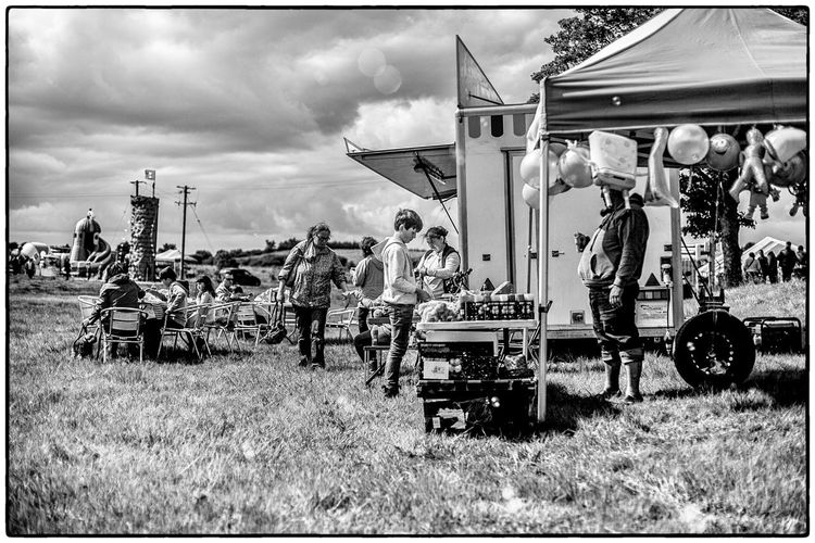 An agricultural show in Swinford, Ireland Agriculture Farmers Market Ireland Blackandwhite Fairground Kid Outdoors