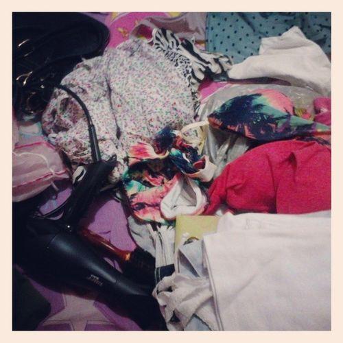 Tentativa frustrada de arrumar minha mala Toperdida