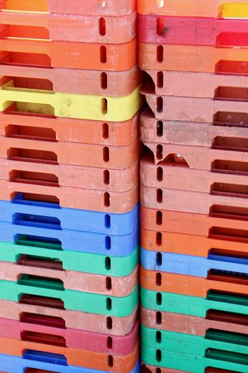 Arrangement Backgrounds Choice Close-up Colorful Day Full Frame Large Group Of Objects Multi Colored No People Plastic Boxes Stack Stapled Still Life Variation
