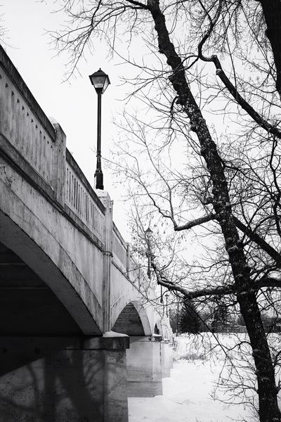 Not quite Paris. Winter_collection Showcase: January It's Cold Outside Naturesbeauty Discover Your City Fujixt1 Xt1 Fujifilm Fujifilm_xseries FUJIFILM X-T1 Architecture_collection Arch Bridge Howiseethings Winnipeg Assiniboine Park