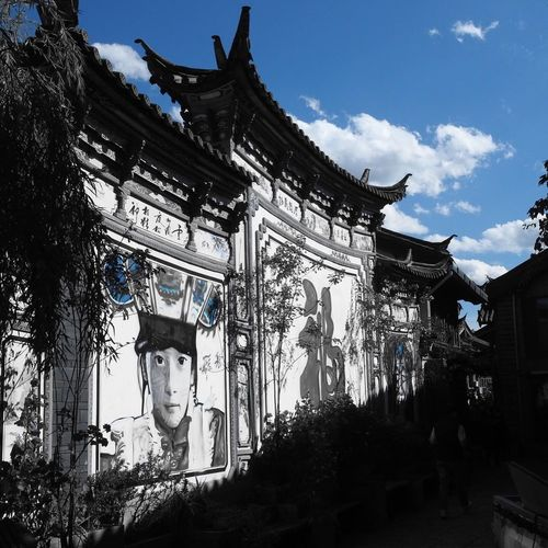 Art to Lijiang Art And Craft Citystreets City Travel Photography Architecture Built Structure Building Exterior Building Sky Decoration Travel Destinations