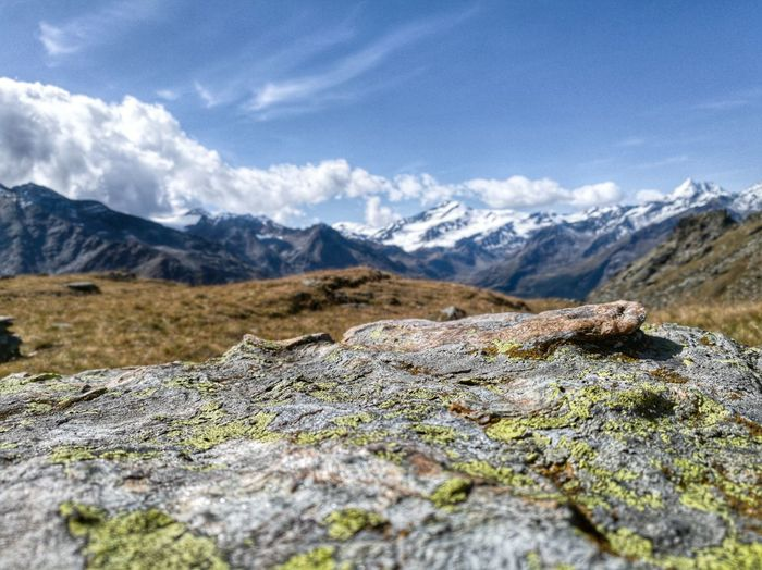 Alpine Alto Adige Hiking Südtirol Adventure Alps Beauty In Nature Cloud - Sky Day Focus On Foreground Italy Landscape Mountain Nature No People Outdoors Scenics Sky Snow