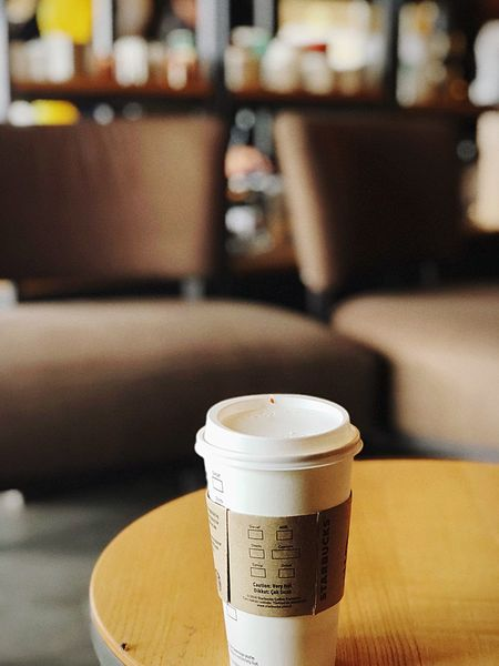 Starbucks coffee kahve bardak cup Food And Drink Drink Refreshment Focus On Foreground Indoors  Still Life Close-up Cup Coffee Business No People Hot Drink First Eyeem Photo