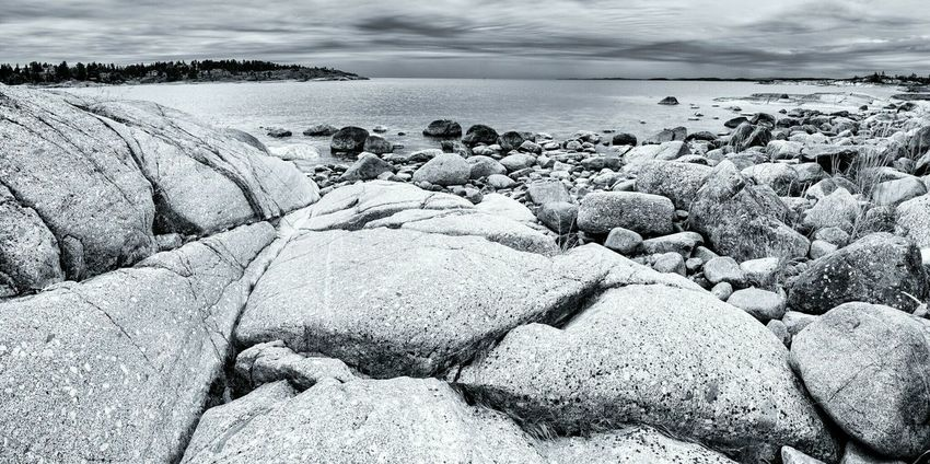 Skeppsmalen Örnsköldsvik Högakusten High Coast Sea Monochrome Monochrome Landscape Blackandwhite Seaside