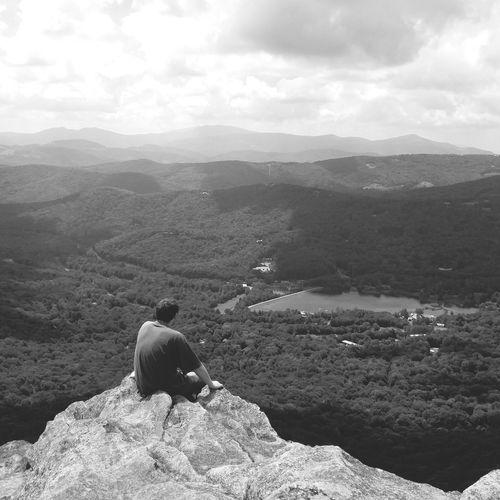 TCPM Break The Mold Mountains Alone Boy Alone In Nature Mental Health Awareness Mental Health Break The Portraitist - 2017 EyeEm Awards Lost In The Landscape