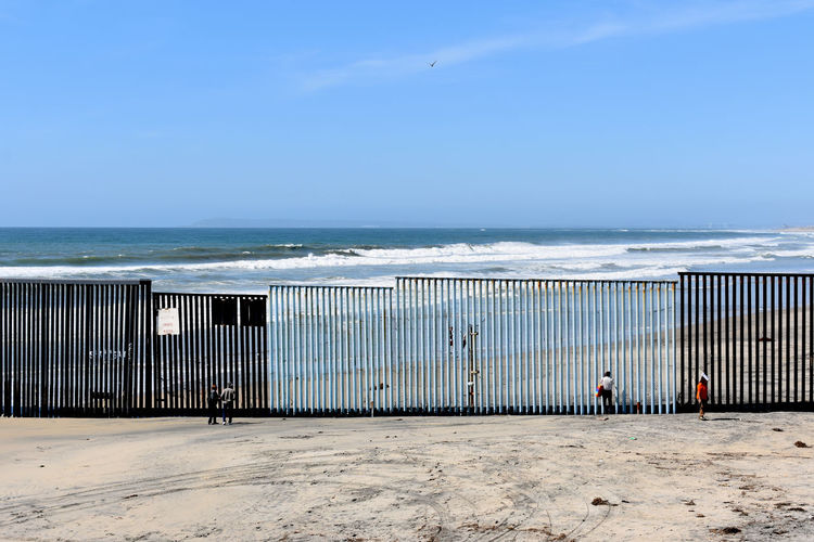 Playas de Tijuana Beachphotography Borderline Ilusion Sea Theotherside Thewall Tijuana, Mexico USA