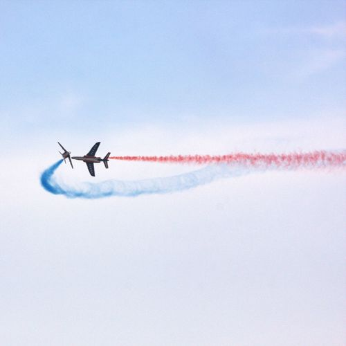 Patrouille de france at work.