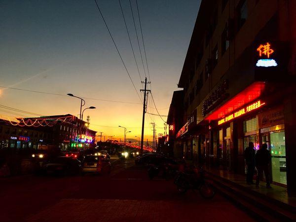在陌生的城市走一走北方的天已经挺冷