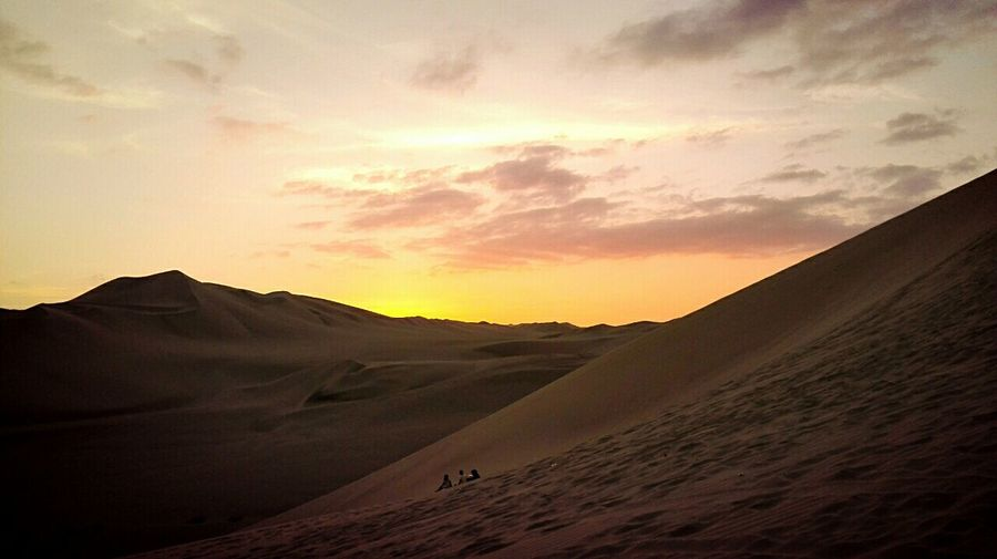 Return ✈ View Beautiful Nature Travel Landscape Cityscapes Relax Perfect Huacachina Peru